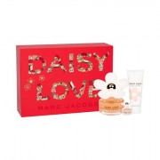 Marc Jacobs Daisy Love confezione regalo eau de toilette 100 ml + lozione corpo 75 ml + eau de toilette 4 ml per donna