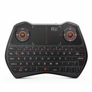 Rii Mini i28C 62 Teclas 2.4GHz + Retroiluminacion Mini Teclado - Negro