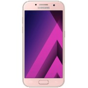 "Telefon Mobil Samsung Galaxy A3 (2017), Procesor Octa-Core 1.6GHz, Super AMOLED capacitive touchscreen 4.7"", 2GB RAM, 16GB Flash, 13MP, 4G, Wi-Fi, Android (Roz/Piersica) + Cartela SIM Orange PrePay, 6 euro credit, 4 GB internet 4G, 2,000 minute nationale"