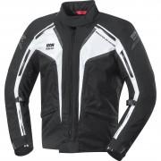IXS Motorradjacke, Motorradschutzjacke IXS Modesto Herren Textiljacke schwarz/weiß XL weiß