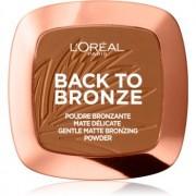 L'Oréal Paris Wake Up & Glow Back to Bronze bronzeador tom 02 Sunkiss 9 g