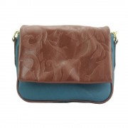 Florence Leather Market Borsetta a tracolla Amara con la pattina stampata (6121)