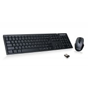IOGEAR Long Range 2.4 GHz Wireless Spill-Resistant Keyboard and Mouse Combo