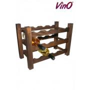 Raft lemn baituit 12 sticle vin