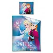 Lenjerie de pat, Frozen, sister are magic, 160 x 200 cm