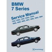 BMW 7 Series (E32) Service Manual: 735i, 735iL, 740i, 740iL, 750iL: 1988, 1989, 1990, 1991, 1992, 1993, 1994