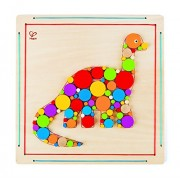 Hape Hape Crafts - Brontosaurus Mosaic, Do-it-Yourself Fun (DIY) Toy