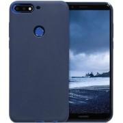 Protectie spate Senno Pure Flex Slim Mate TPU pentru Huawei Y7 2018 / Y7 Prime 2018 (Albastru)