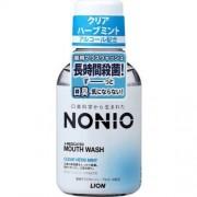 LION «Nonio» Профилактический зубной ополаскиватель (аромат трав и мяты), 80 мл.