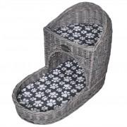 vidaXL Macskabútor / ágy / kaparófa párnával lépcső alakú