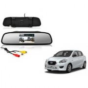 4.3 Inch Rear View TFT LCD Monitor Mirror Screen Display For Reverse Parking and Rear View For Datsun Go