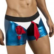 Candyman Pimp Costume Boxer Brief Underwear Blue 9647