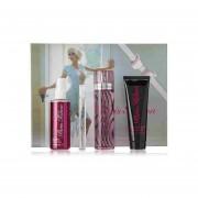 Set Paris Hilton Estuche 100Ml Eau de Parfum+10Ml Mini+90Ml Locion+118Ml Body Mist