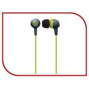 Skullcandy Jib In-Ear W/O Mic Gray-HotLime-HotLime S2DUFZ-385