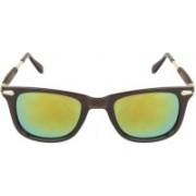 Vartika Retro Square Sunglasses(Green)