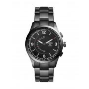 メンズ FOSSIL Q Q Activist Hybrid Smartwatch スマートウォッチ ブラック