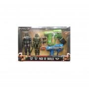 Halo Master Chief Spartan Locke + 2 Lanzadores Mattel Boomco