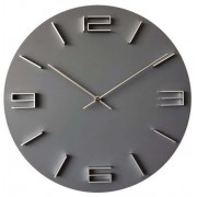 Designové kovové moderní hodiny JVD HC27.1 s 3D číslicemi