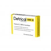 ZDROVIT DETRICAL D3 1000Ui x 60 comprimate