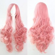 rosegal 80CM Top Quality Side Bang Layered Shaggy Long Curly Heat Resistant Charming Cosplay Wig