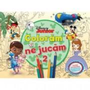 Disney Junior. Coloram si ne jucam 2 . Planse de colorat cu activitati distractive