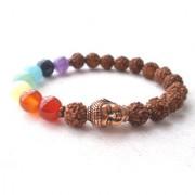 7 Chakra Bracelet Yoga Jewelry Rudraksha Bracelet Meditation Bracelet