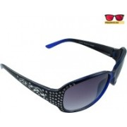 Polo House USA Oval Sunglasses(Blue)