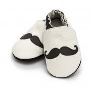 Pantofi cu talpa moale Liliputi Moustache