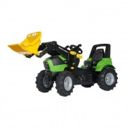 Rolly FarmTrac Deutz-Fahr Agroton 7250 pedálos traktor markolóval