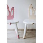 White Bunny - Set 2 scaune pentru copii Iepuras SB-146