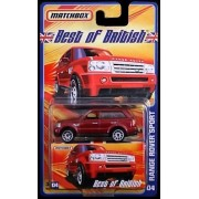 RANGE ROVER SPORT Matchbox Best of British Series Red Range Rover Sport 1:64 Scale Collectible Die Cast Metal...