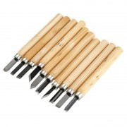 Professional Carving Knifes Sets 10pcs Wood Handle Mini Chisels Kit Woodworking engraving Handy Cutting Burin Tools Kits AA