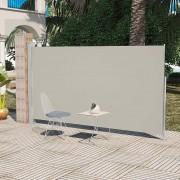 vidaXL Wind-/zonnescherm uittrekbaar 180x300 cm crème