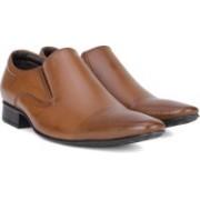 Bata TED Slip On Shoes For Men(Brown)
