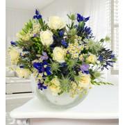 Niagra - Haute Florist Bouquet - Luxury Flowers - Luxury Flower Delivery - Luxury Bouquet