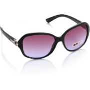 Opium Rectangular Sunglasses(Pink, Blue)
