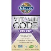 Garden of Life Vitamin Code Raw Zinc - 60 Capsules