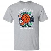 243 - RTP - Roach Graphics - Street Basketball-01 G200 Gildan Ultra Cotton T-Shirt