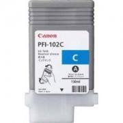 Мастилена касета Canon Dye Ink Tank PFI-102 Cyan for iPF500, iPF600, iPF700, CF0896B001AA