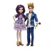 Disney Descendants Two-Pack Mal Isle of the Lost and Ben Auradon Prep Dolls
