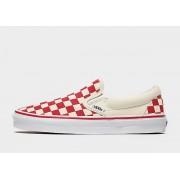 Vans Slip-On Dames - Red/White
