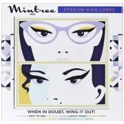 Mintree Stick-On Wing Eyeliners Classic Black Geometric Black Combo
