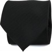Suitable Krawatte Seide Schwarz - Schwarz