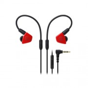 HEADPHONES, Audio-Technica ATH-LS50iSRD, Microphone, Red