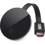 Mediaplyer google Google Chromecast Ultra 4K negru US + adapter PL (GA3A00403A14)