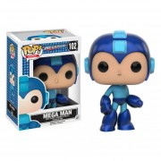 Funko Pop 102 Megaman De Videojuego Retro Azul Clásico