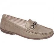 Easy Street Taupe loafer metallic Easy Street maat 37