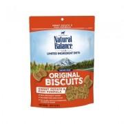 Natural Balance L.I.T. Limited Ingredient Treats Sweet Potato & Fish Dog Treats, Regular, 14-oz