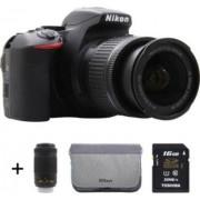 Nikon Reflex NIKON D5600 + 18-55 + 70-300VR +