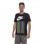 Nike T-shirt international da uomo, nera